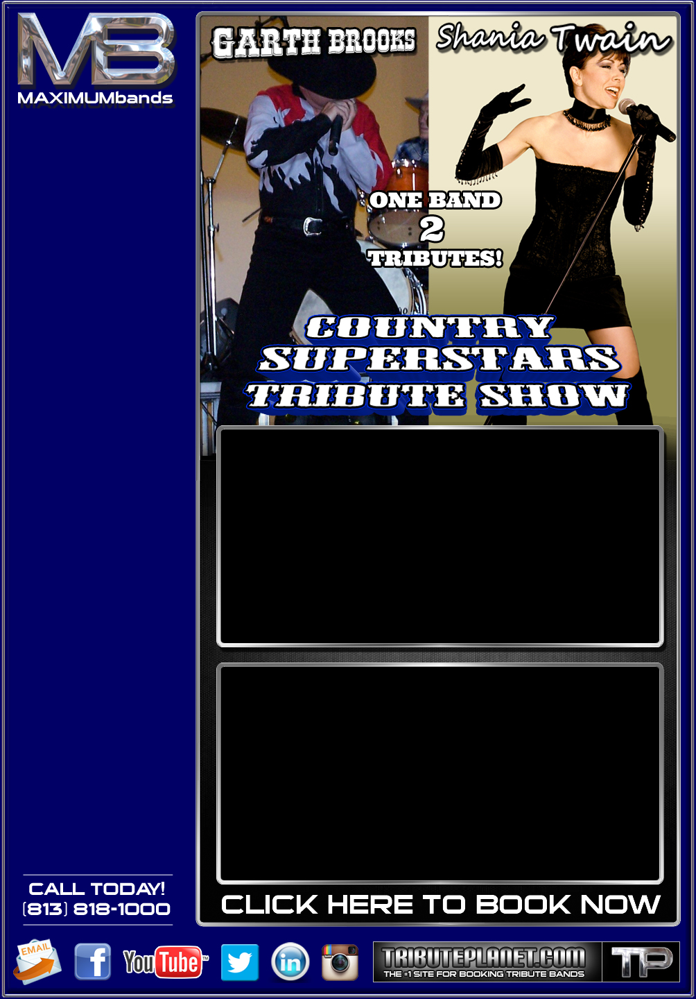 Country Superstars Tribute Show Featuring Garth Brooks And
