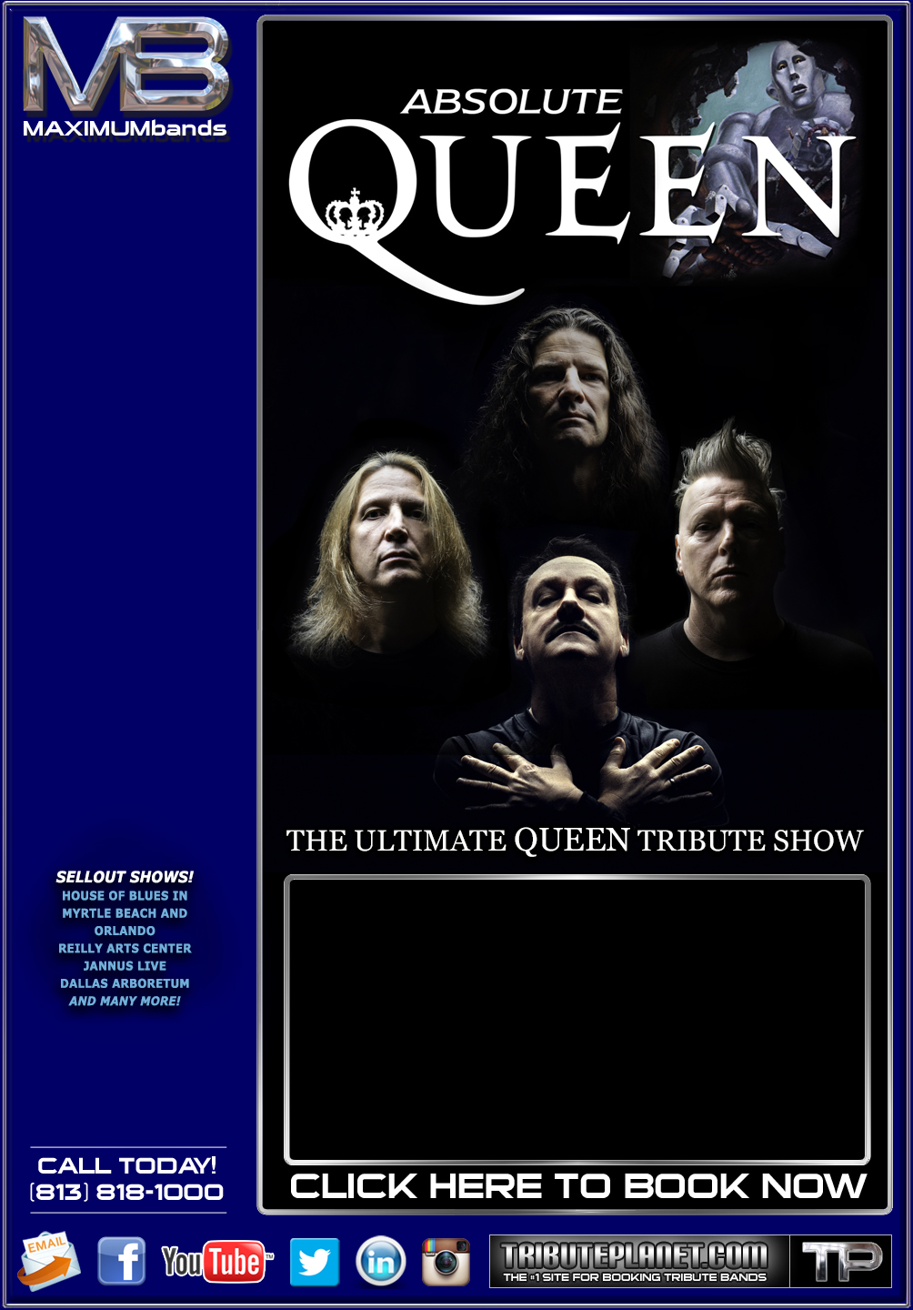 Queen Tribute Absolute Queen from Florida